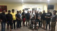 Polisi berhasil menangkap pembunuh wanita berkulit bening di Hotel Benhil Makassar (Liputan6.com/ Eka Hakim)