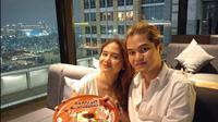 Momen Perayaan Anniversary Dul Jaelani dan Tissa Biani, Romantis Banget. (Sumber: Instagram/duljaelani)