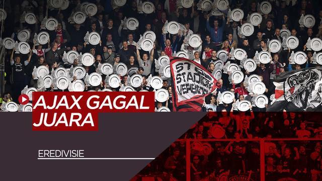 Berita Video tentang gagalnya Ajax Amsterdam meraih gelar Liga Eredivisie yang ke-35 karena diberhentikannya liga tersebut akibat COVID-19
