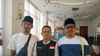 Jemaah haji Indonesia yang sempat bertemu dengan Putra Raja Salman. Liputan6.com/Nurmayanti