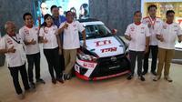 Toyota Team Indonesia  hadir di GIIAS 2017. (Herdi Muhardi)