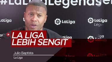 Berita Video Julio Baptista Yakin Real Madrid,Barcelona dan Atletico Madrid Akan Dominasi La Liga
