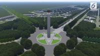 Desain Ibu Kota Baru di Kalimantan. (Liputan6.com/ Istimewa)