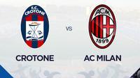 Serie A - Crotone Vs AC Milan (Bola.com/Adreanus Titus)