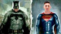 Cristiano Ronaldo Vs Lionel Messi yang diplesetkan menjadi Batman Vs Superman (101 Great Goals / Liputan6)