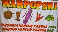 Warung di Jakarta Beri Makanan Gratis untuk Driver Ojol Selama WFH. (dok.Instagram @warpopski/https://www.instagram.com/p/BwtURgKgmg7/Henry)