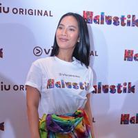 Preskon Viu Halustik (Adrian Putra/bintang.com)