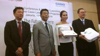 Peluncuran Proyektor Terbaru Casio. Liputan6.com/Jeko Iqbal Reza