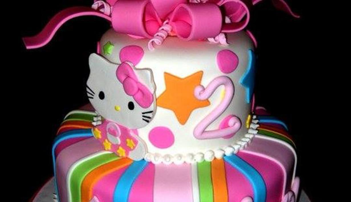 900 Gambar Hello Kitty Untuk Kue Tart Infobaru