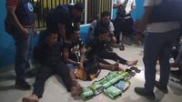 Badan Narkotika Nasional (BNN) Provinsi Bangka Belitung berhasil mengamankan 6 kilogram sabu, 4.787 butir ekstasi dan 31 butir happy five, yang masuk ke wilayahnya. (Foto: Tim BNN)