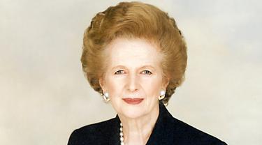 Mantan Perdana Menteri Inggris, Margaret Thatcher