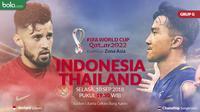 Kualifikasi Piala Dunia 2022 - Indonesia Vs Thailand - Duel Pemain Stefano Lilipaly Vs Chanathip Songkrasin (Bola.com/Adreanus Titus)