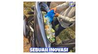 Kreatifnya orang Indonesia (Sumber: Instagram/@tertawaajah)