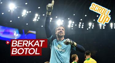 Berita video Scroll Up kali ini membahas soal botol minum kiper Norwich City, Tim Krul, yang membuat Tottenham Hotspur tersingkir dari Piala FA 2019-2020.