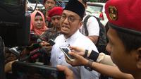 Ketua Umum Pimpinan Pusat Pemuda Muhammadiyah, Dahnil Anzar Simanjuntak. (Merdeka.com/Nur Habibie)