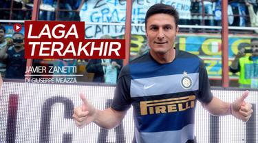 Berita video flashback Serie A, 10 Mei (hari ini) pada 2014, Javier Zanetti, melakoni laga terakhir sebagai kapten Inter Milan di Giuseppe Meazza.