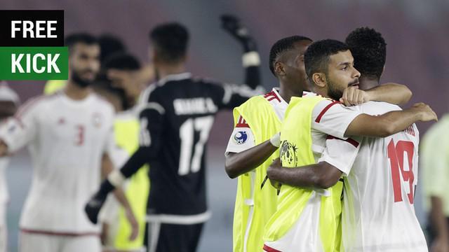Berita video gol free kick indah UEA U-19 saat menghadapi Qatar U-19 yang juga harus diwaspadai oleh Timnas Indonesia U-19 saat menghadapi mereka pada laga terakhir Grup A Piala AFC U-19 2018.