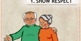 40 Gambar Kartun Romantis Kakek Nenek HD Terbaik