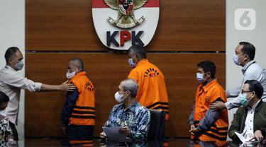 KPK Tahan Tiga Tersangka Suap Pengadaan Barang dan Jasa di Kabupaten Hulu Sungai Utara