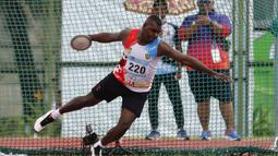 Sebelumnya, kontingen Papua baru mengumpulkan 1 medali perak dan 3 perunggu dari cabang atletik PON XX Papua. (PB PON XX Papua/Ady Sesotya)