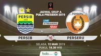 Piala Presiden: Persib Bandung vs Perseru Serui. (Bola.com/Dody Iryawan)