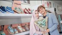 Anisa Rahma Rilis Sepatu Syariah, Seperti Apa? (dok.Instagram @anisarahma_12/https://www.instagram.com/p/CKNibS9HkYY/Henry)