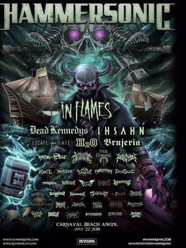Penyelenggaraan Hammersonic 2018 (Twitter/ hammersonicfest)