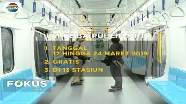Uji coba MRT Gratis sudah dibuka sejak Selasa, 12 Maret! Bagi masyarakat yang ingin mencoba, harus daftar terlebih dahulu di situs resmi MRT Jakarta.