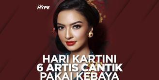 Rayakan Hari Kartini, 6 Artis Cantik Ini Kenakan Kebaya