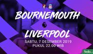 Premier League - AFC Bournemouth Vs Liverpool (Bola.com/Adreanus Titus)