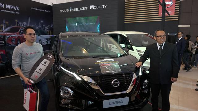 All new Nissan Livina di GIIAS Surabaya 2019 (Dian/Liputan6.com)