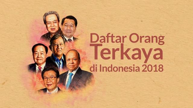 Siapa saja nama yang masuk dalam daftar orang terkaya di Indonesia?
