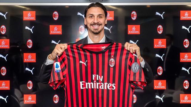 Zlatan Ibrahimovic Kembali ke Pelukan AC Milan