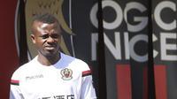 Chelsea siap mendatangkan gelandang Nice asal Pantai Gading, Jean-Michael Seri, demi memperkukuh lini tengah tim musim depan. (AFP/Valery Hache)
