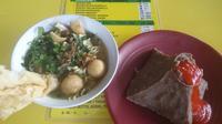 Inovasi bakso menyerupai Gunung Merapi bisa dicicipi di Laba Laba Bakso And Kitchen Sleman