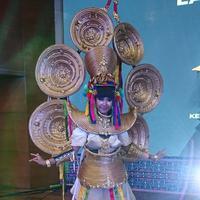 Karen, salah satu inspirasi kostum Jember Fashion Carnaval 2019. (Liputan6.com/Dinny Mutiah)