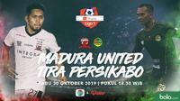 Shopee Liga 1 - Madura United Vs Tira Persikabo - Head to Head Pemain (Bola.com/Adreanus Titus)