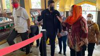 Bobby Nasution, memperkenalkan Istana Maimun ke Wakil Wali Kota Semarang, Hevearita G Rahayu