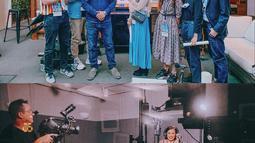 Beby diudang oleh Disney Indonesia untuk hadir di Walt Disney Animation Studios untuk footage screening dengan filmmaker, menonton cuplikan Frozen II, drawing session untuk karakter baru di Frozen II, dan dubbing session menjadi karakter Olaf. (Liputan6.com/IG/@bebytsabina)