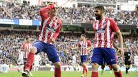 5. Antoine Griezmann (Atletico Madrid) - 18 Gol (2 Penalti). (AFP/Javier Soriano)