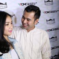 Raffi Ahmad dan Nagita Slavina (Galih W. Satria/bintang.com)