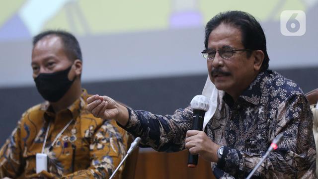 FOTO: Sejumlah Menteri Beri Penjelasan Resmi Terkait UU Omnibus Law Cipta Kerja