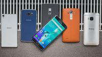 Sejumlah smartphone yang diproduksi di Tiongkok (Sumber: Android Pit)