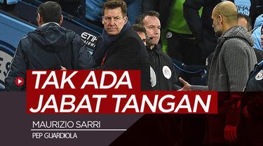Berita video Manajer Chelsea, Maurizio Sarri, menjelaskan mengapa dirinya tidak berjabat tangan dengan Manajer Manchester City, Pep Guardiola, setelah pertandingan pada Minggu (10/2/2019).