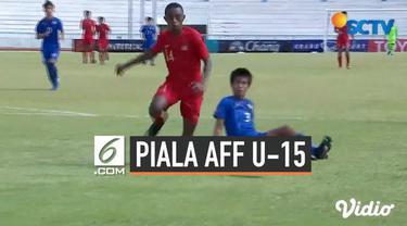 Indonesia kembali memetik kemenangan di babak penyisihan Grup A Piala AFF U-15 2019. Timnas Indonesia U-15 berhasil mengalahkan timnas Filipina 4-0 pada pertandingan keempat yang berlangsung di Stadion Kampus Chonburi 1, Jumat (2/8/2019).
