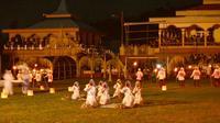 Ritual dan prosesi adat mengawali Festival Tidore 2018 yang berlangsung sejak 30 Maret hingga 12 April 2018. (Foto: Dok. Kemenpar)