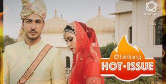Bagaimana penampilan Raisa jika dibalut pakaian khas India?