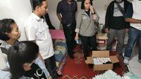 Polisi Amankan 23 Ribu Lembar Masker di Apartemen dan sebuah Rumah Mewah. (Istimewa)