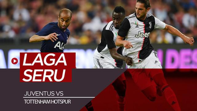 Berita video highlights laga seru Juventus melawan Tottenham Hotspur di ICC 2019, Minggu (21/7/2019).