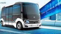 Bus mini nirsopir (Yutong)